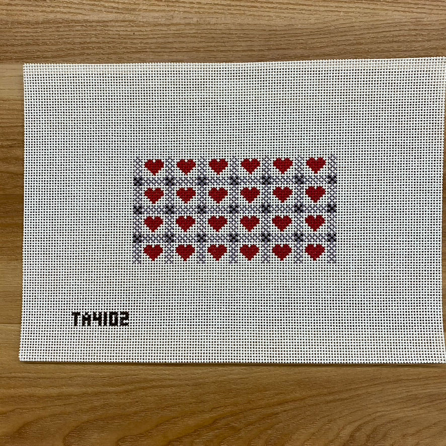 Hearts And Gingham