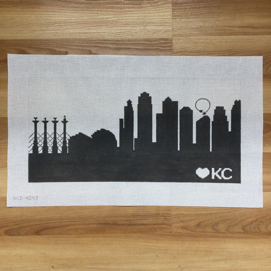 KC Skyline Pillow