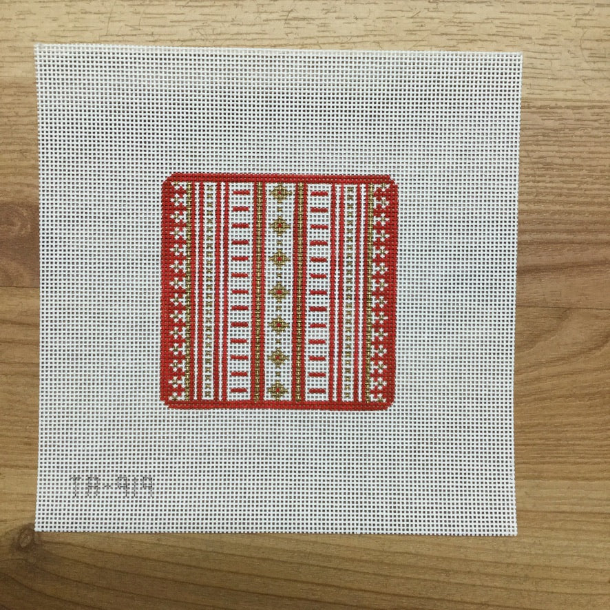 Red and Gold Square