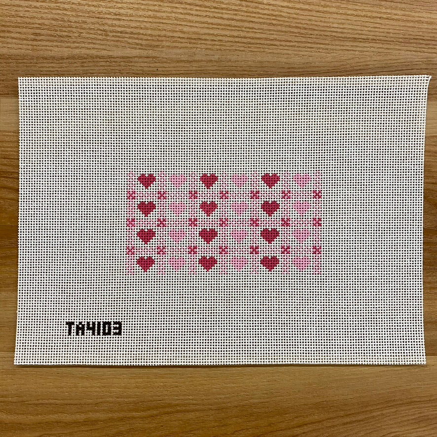 Hearts Gingham