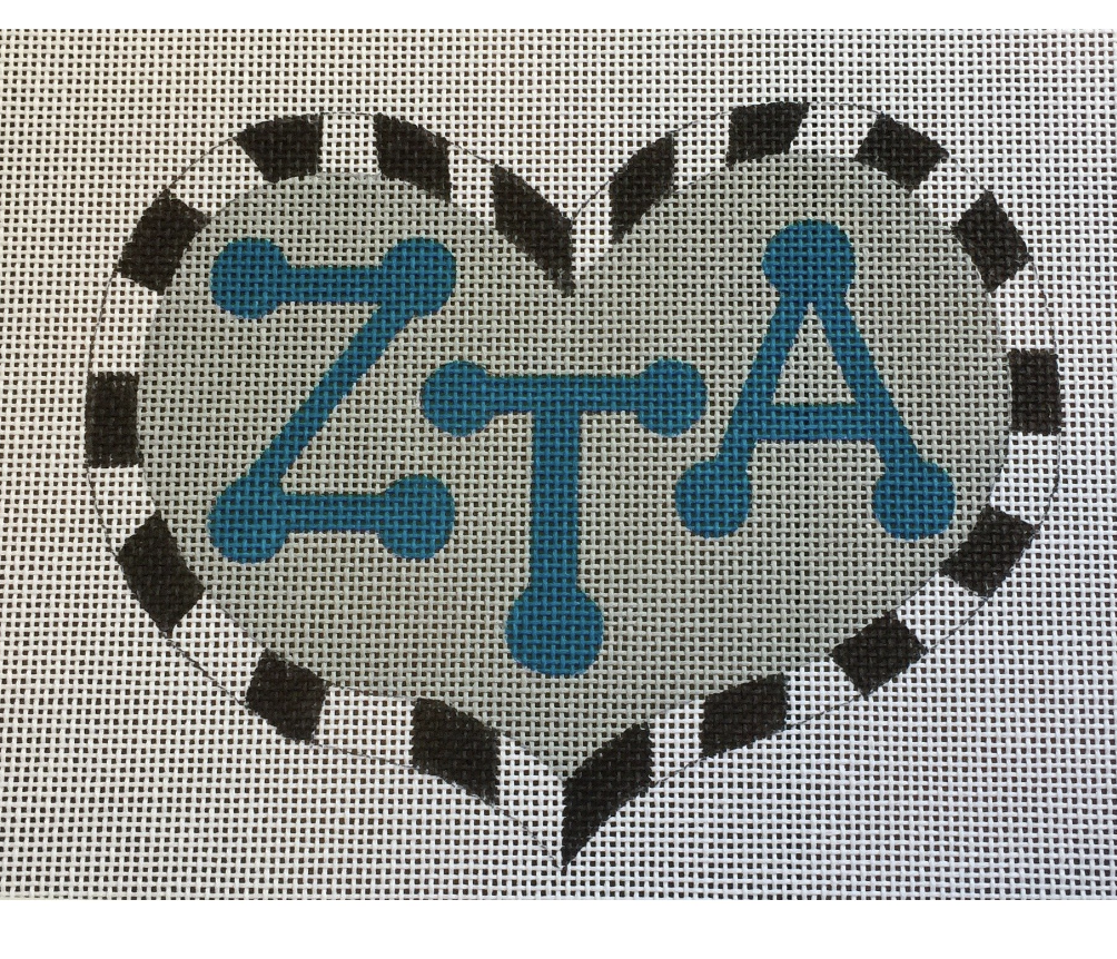 Zeta Tau Alpha Heart with Letters