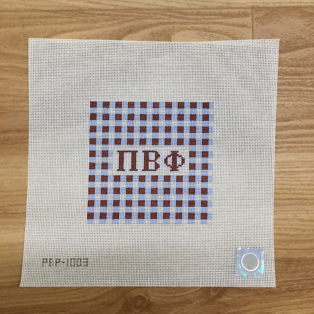 Pi Beta Phi Gingham Square