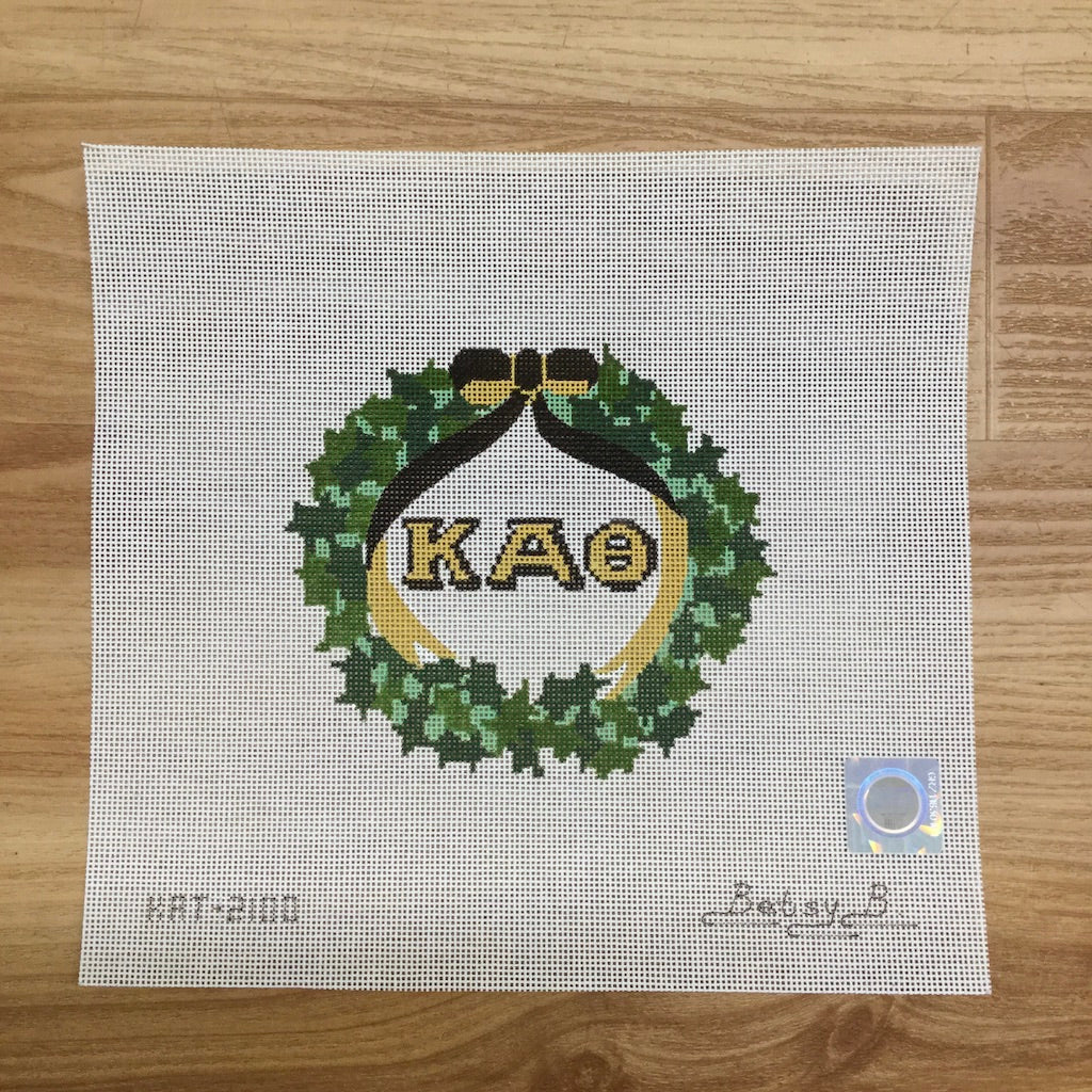 Kappa Alpha Theta Ivy Wreath