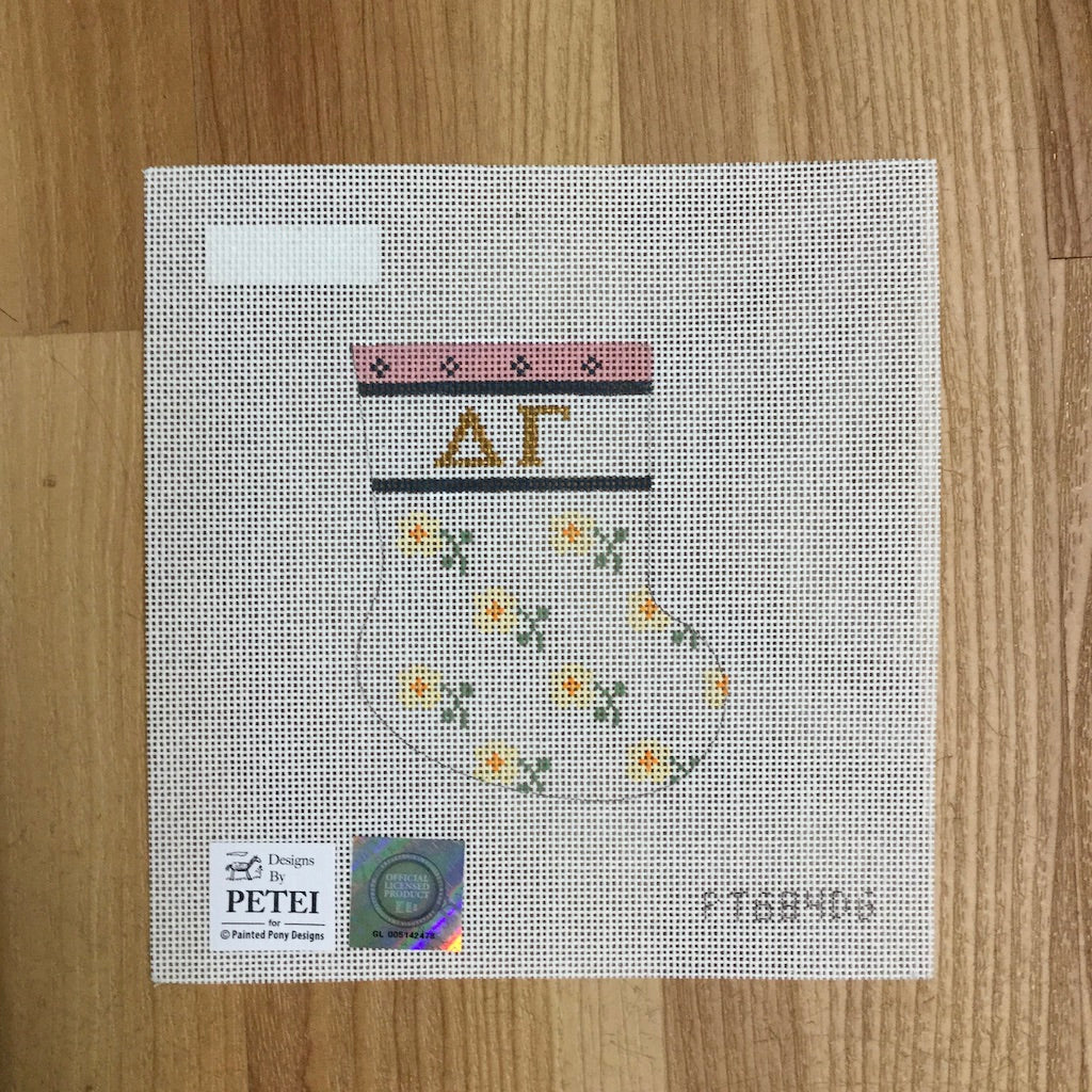 Delta Gamma Petei Mini Sock