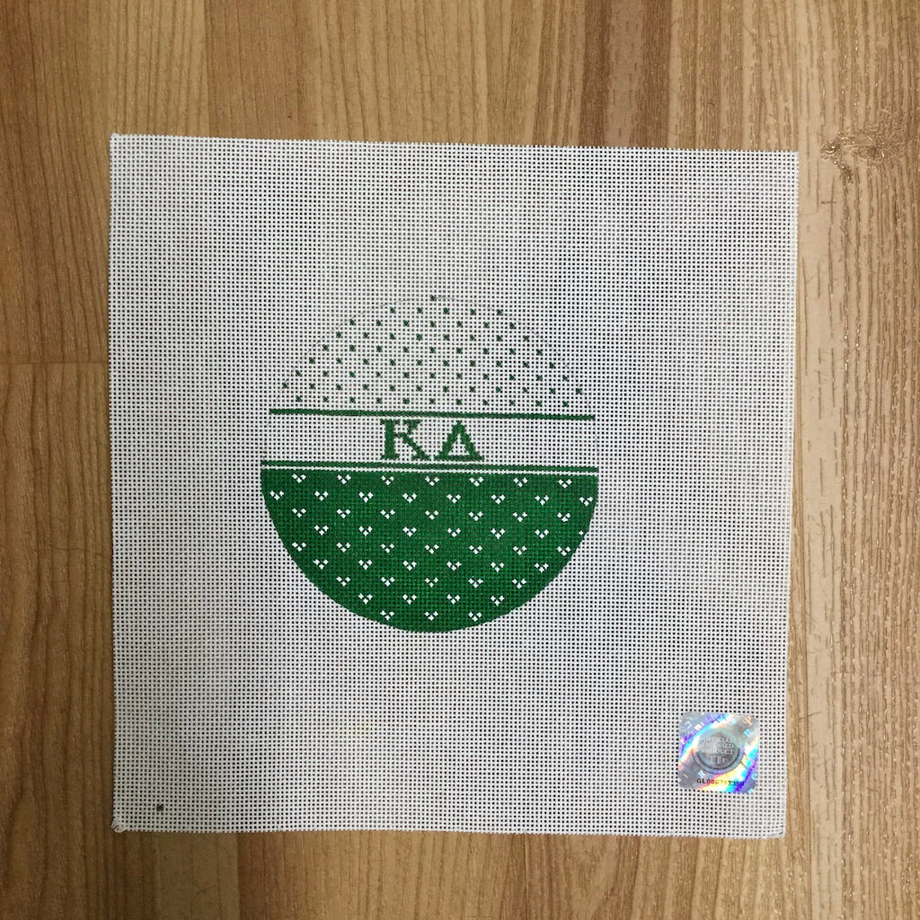 Kappa Delta Striped Round