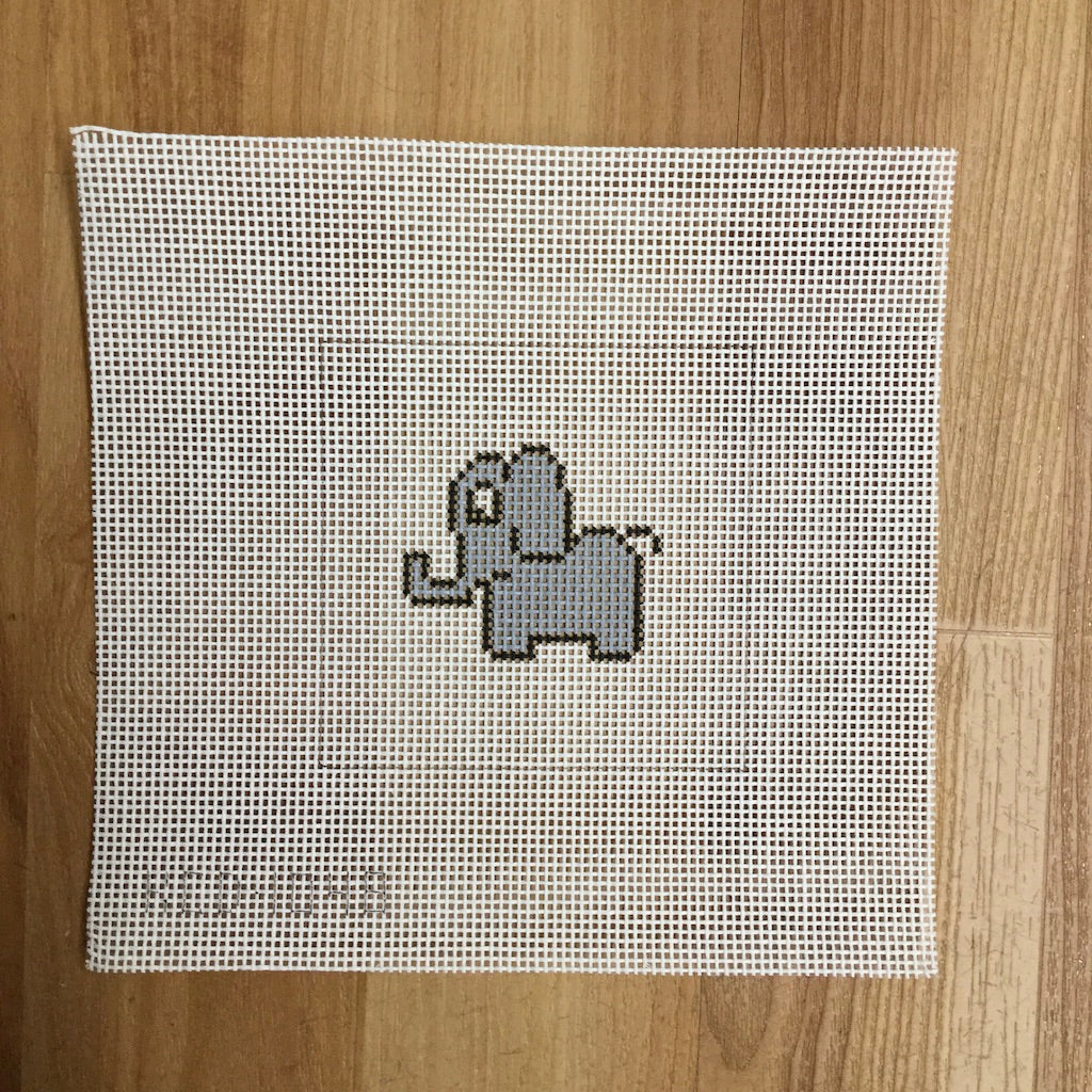 Elephant Beginner Canvas
