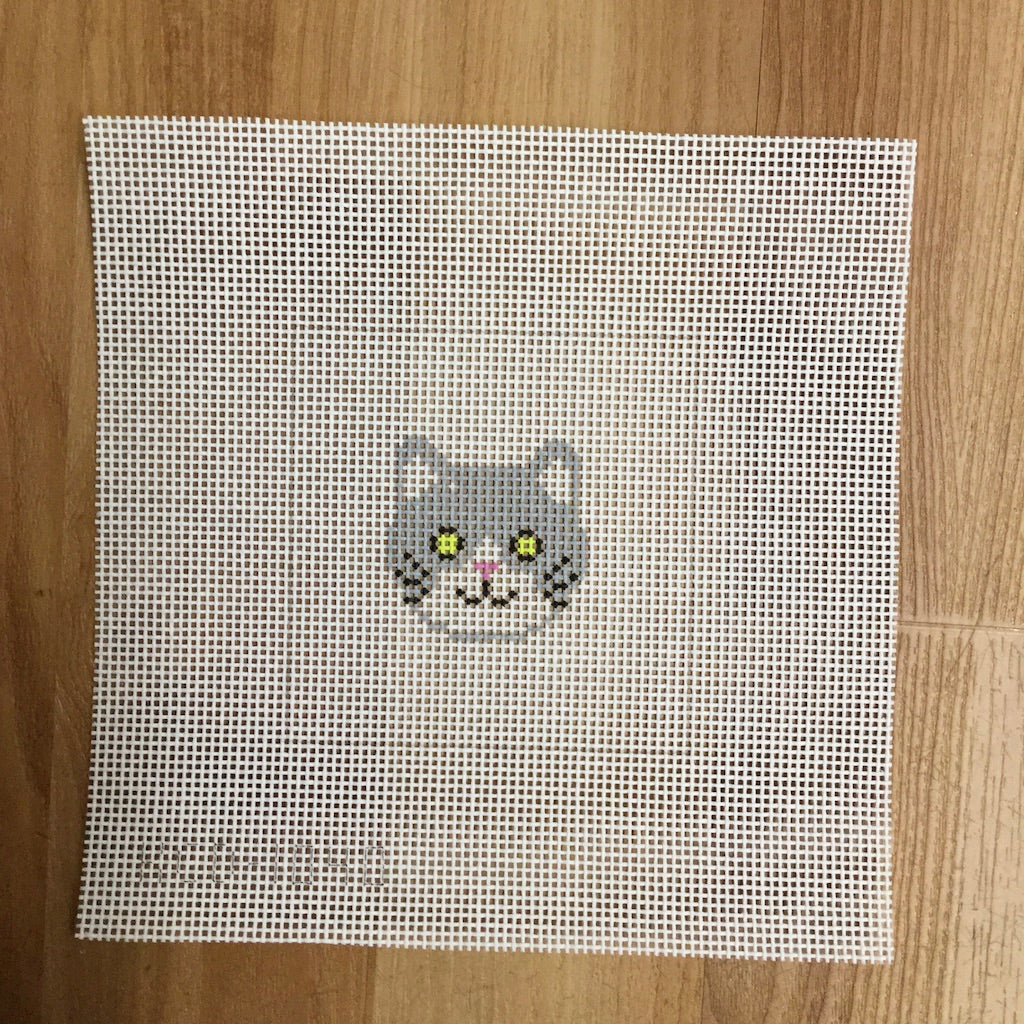 Cat Face Beginner Canvas