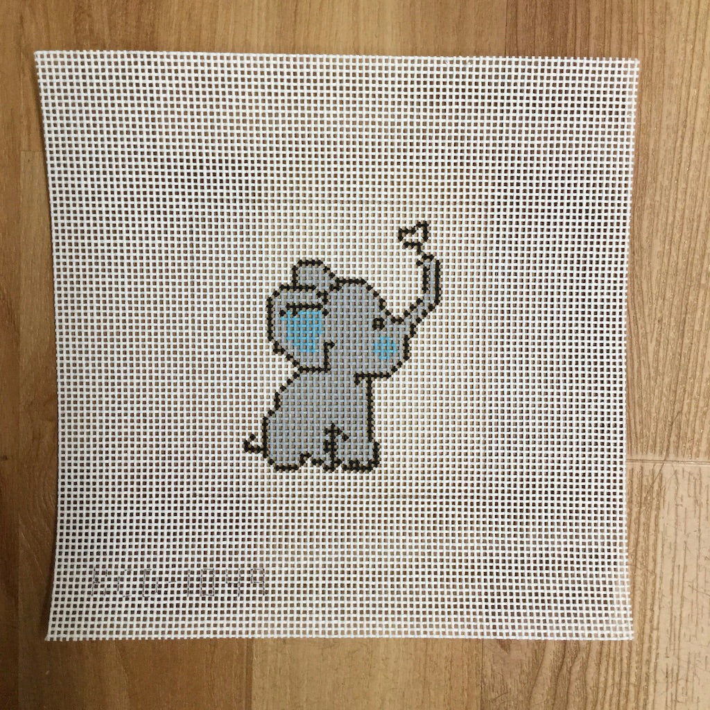 Elephant with Heart Beginner Canvas