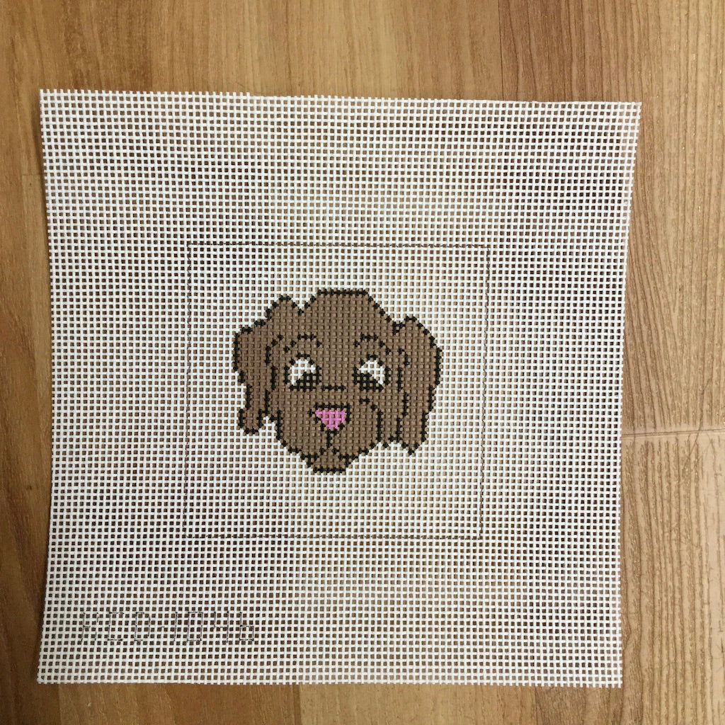 Dog Face Beginner Canvas
