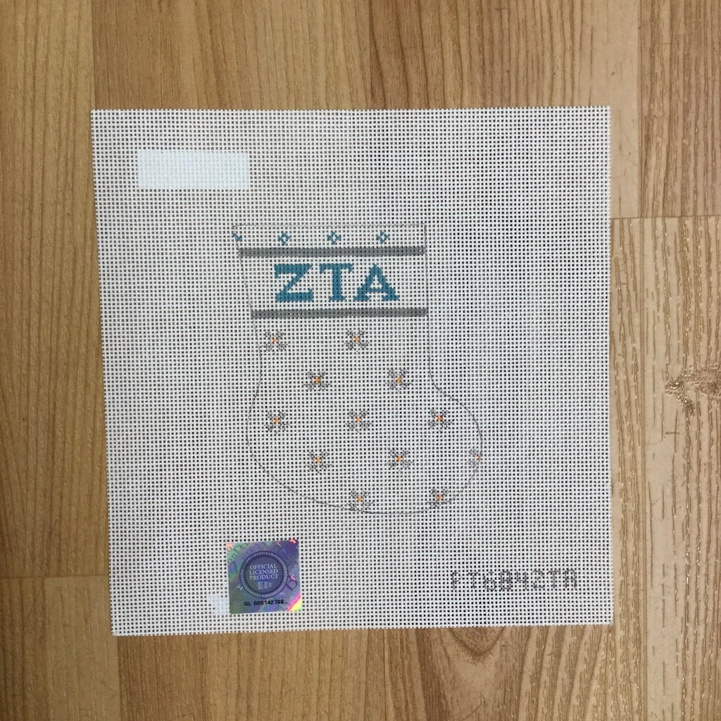 Zeta Tau Alpha Petei Mini Sock