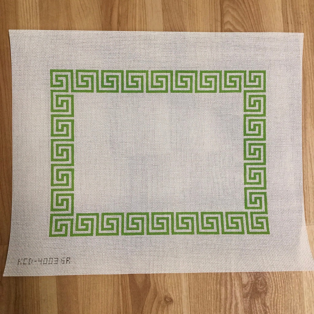 Greek Key Border Pillow