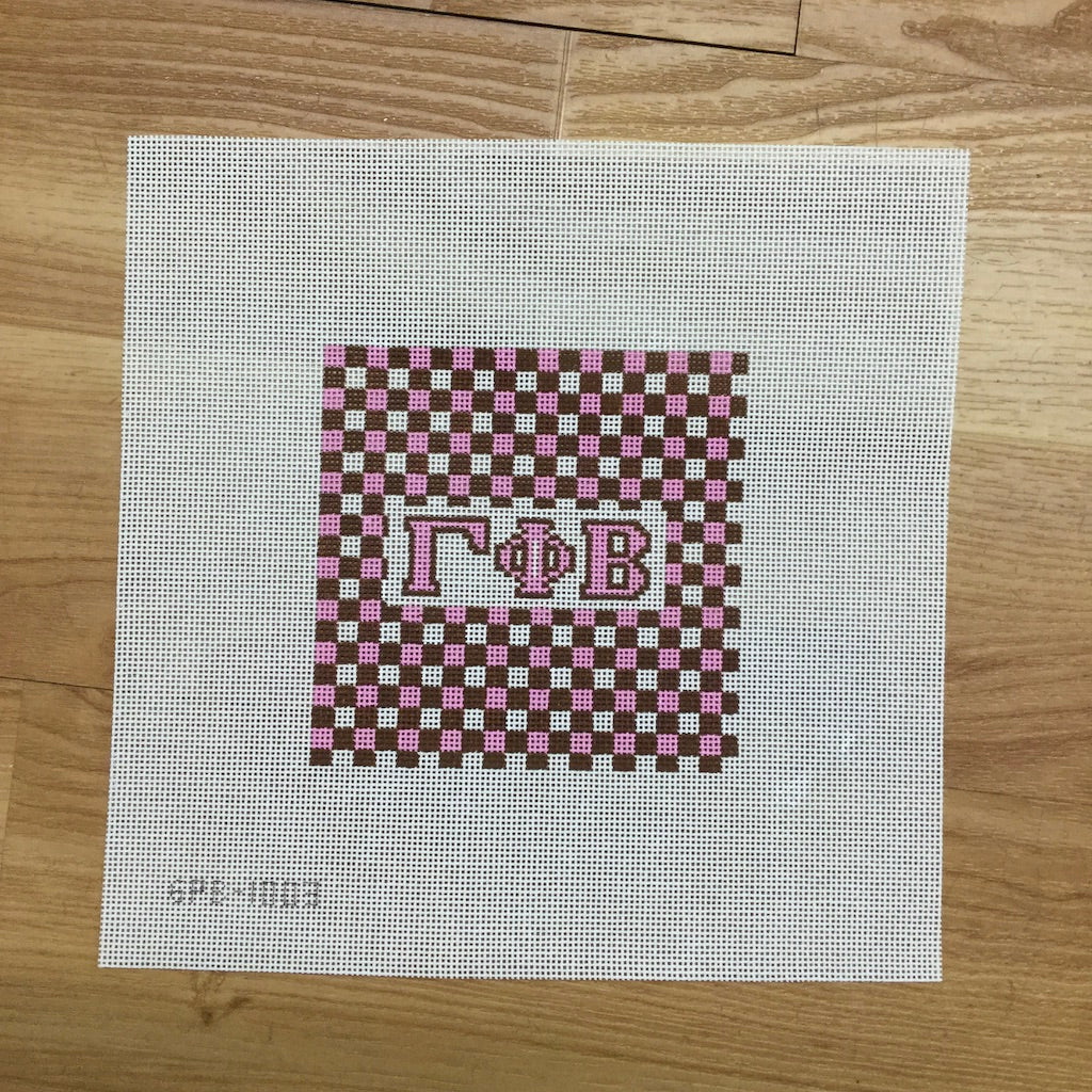 Gamma Phi Beta Gingham Square