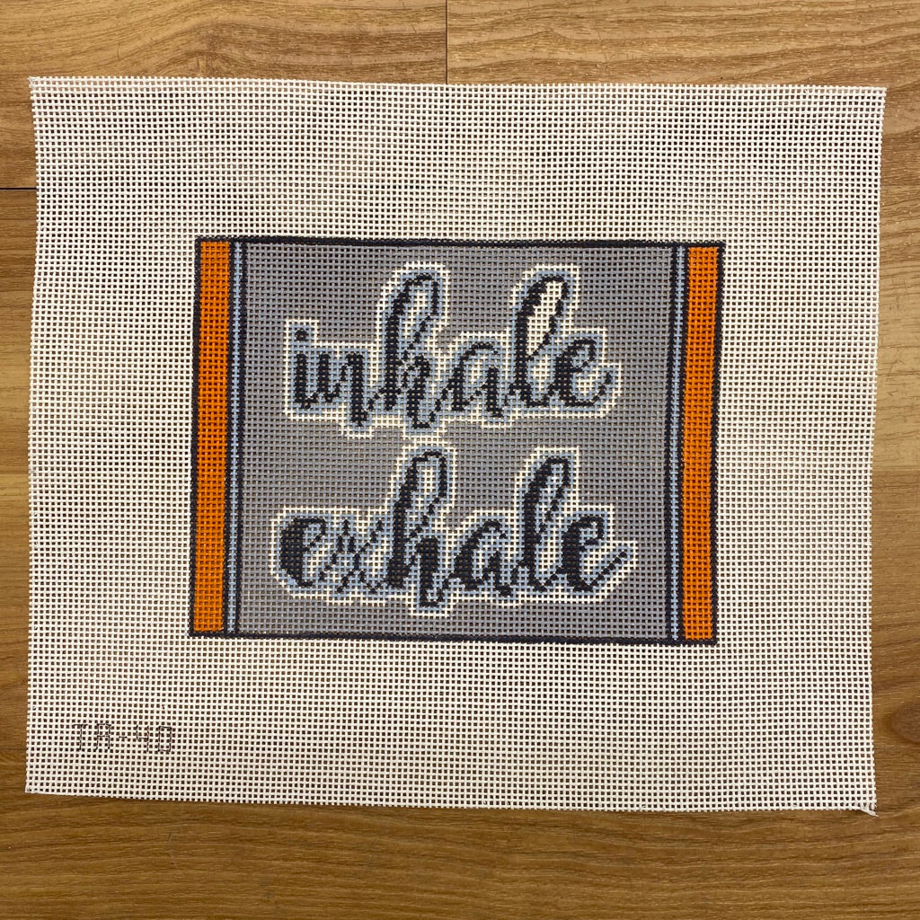 Inhale/Exhale Canvas