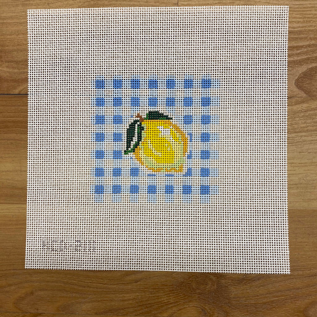 Lemon on Gingham