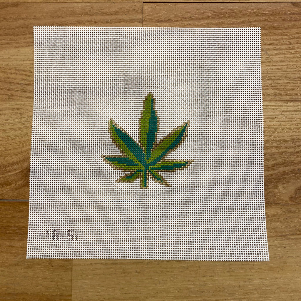 Don't Panic - Pot Leaf Canvas