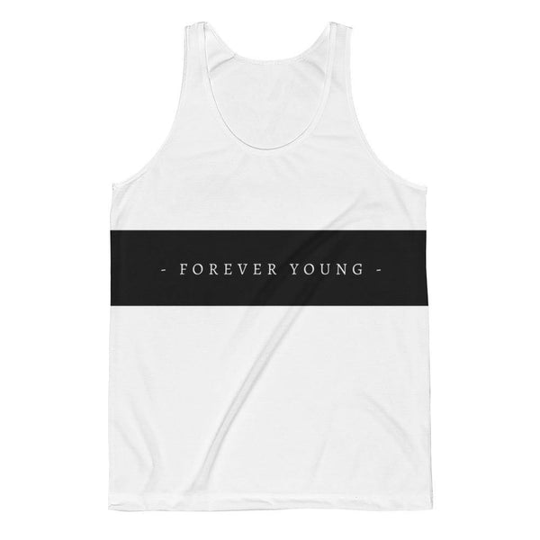 Forever Young Unisex Classic Fit Tank Top