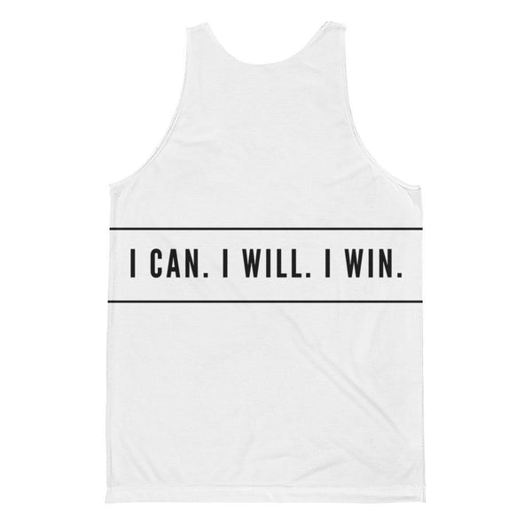 {Doube Sided} I Can I Will I Win - Unisex Classic Fit Tank Top