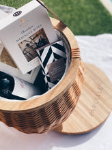 Parcelle Deluxe Picnic Basket - Corporate and Settlement Gifting, Picnic Basket, Grounded Pleasures, Tread Softly, Koko Black, Moreish Menu, Organic Times