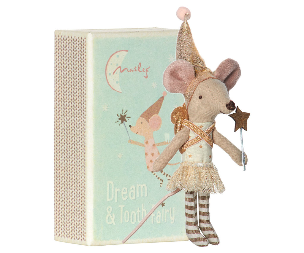 MOUSE TOOTH FAIRY GIRL IN BOX