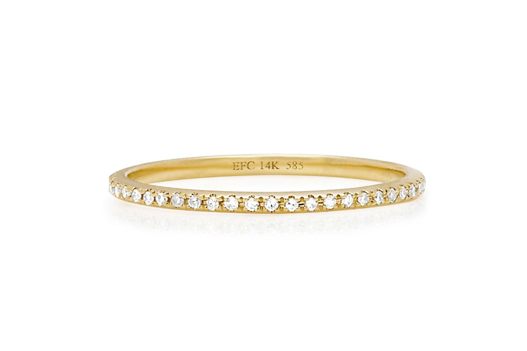 EF Collection DIAMOND ETERNITY BAND RING