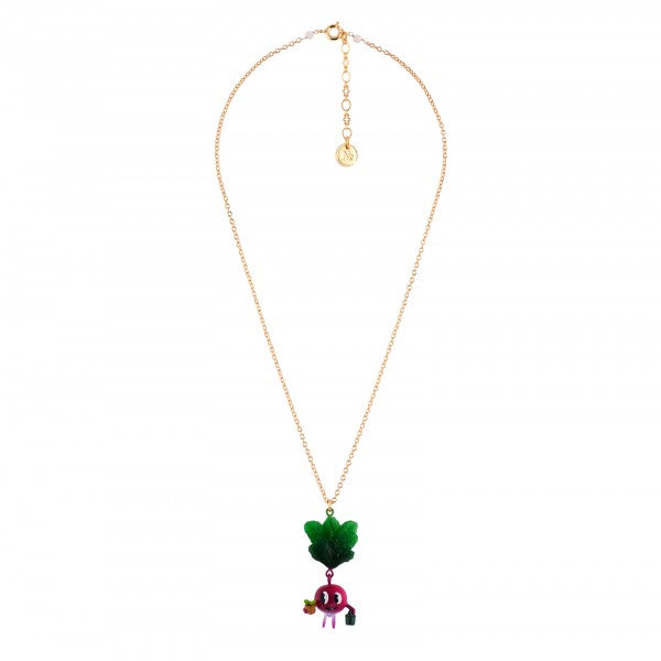 ALL SMILES RADISH NECKLACE