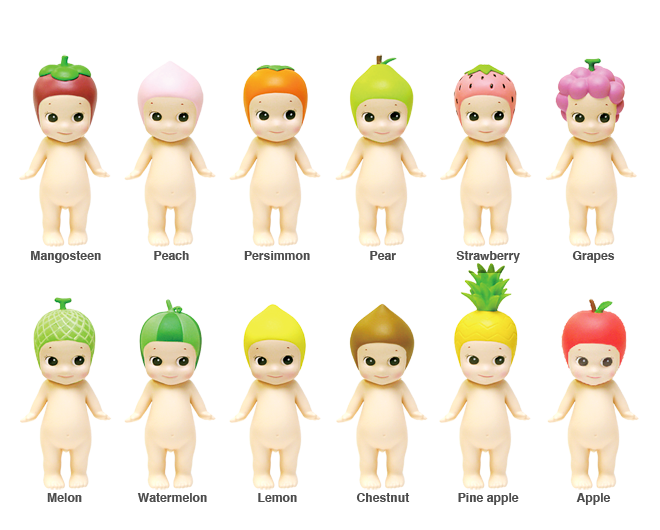Sonny Angel Fruit Series, Entire Collection