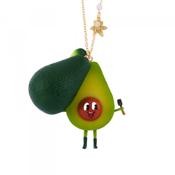 JOYFUL AVOCADO LONG NECKLACE