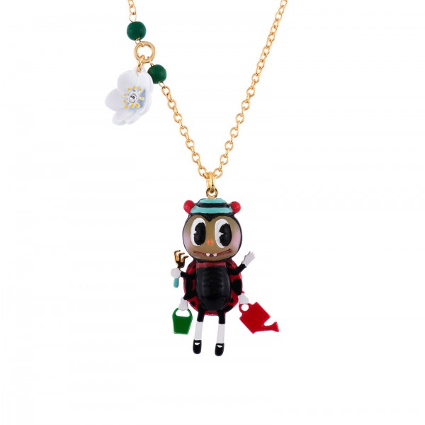 MULTI TASKS LADYBIRD NECKLACE