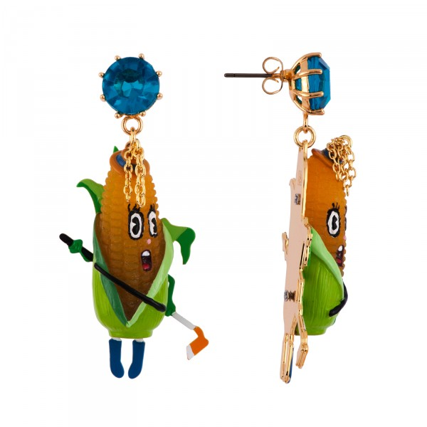 SCANDALIZED CORN EARRINGS