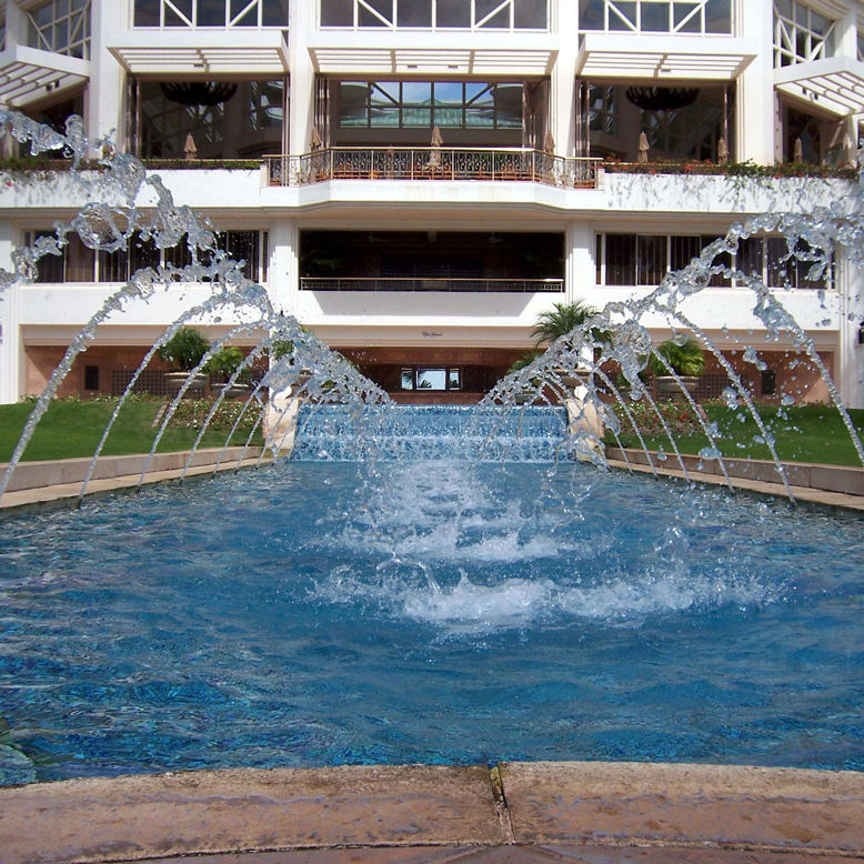 The Grand Wailea fountain