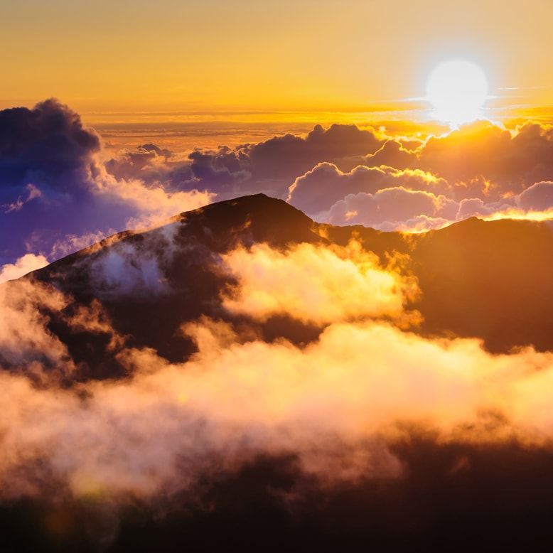 Call Royal Taxi (808) 874-6900 for your Haleakala Sunset adventures