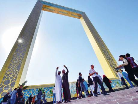 dubai frame booking