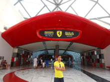 abu dhabi city tour and Ferrari world
