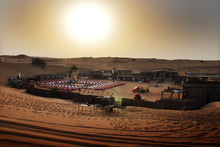 desert safari dubai camp with traditional arabic activities