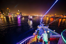 Dhow Cruise Dinner Dubai Lama Tours offer romantic cruise and dinner under the moonlight with the view of the amazing city of Dubai.
