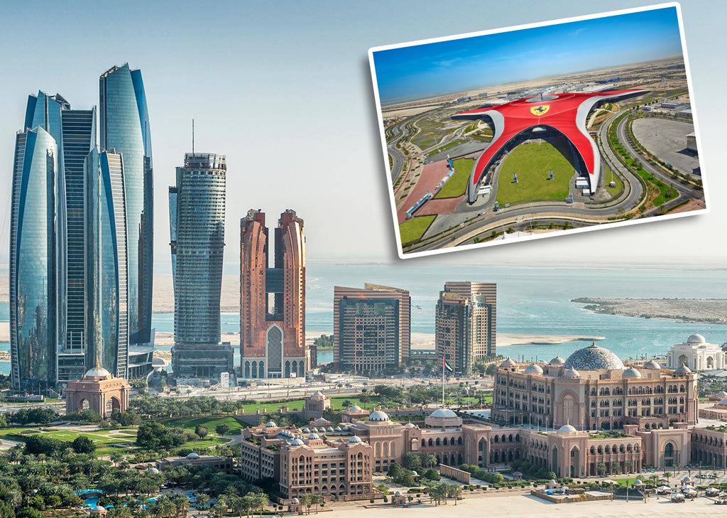 Best Price for Abu Dhabi City Tour and Ferrari World