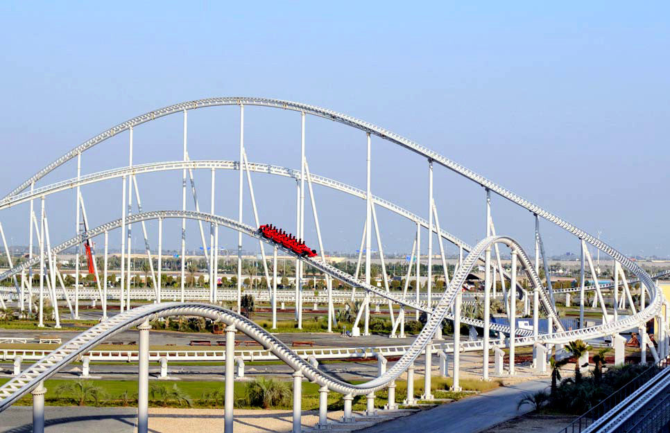... Located On The Yas Island In Abu Dhabi, Ferrari World Is The Worldu0027s  Largest Indoor ...