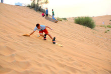 An addition to excursions that has become the latest craze among people in Dubai is sand skiing.  The fun of sand skiing in Dubai is absolutely double than anywhere else. It is simply because you can come across to very high sand dunes in the deserts of Dubai. Adventure-lovers cannot afford to miss out on this daring deed! You can actually feel the world skidding beneath your feet while surfing down the huge sand dunes.
