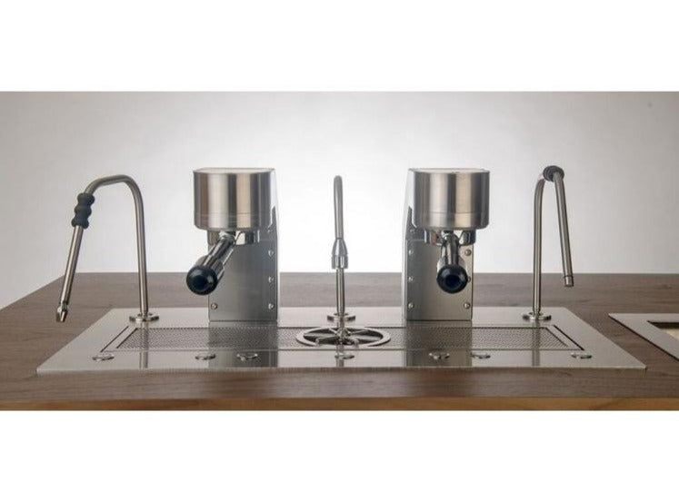 Mavam Under Counter Espresso Machine 2 Group Silver