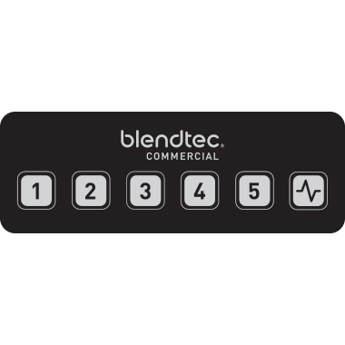 Blendtec Connoisseur 825 LDC display touchpad