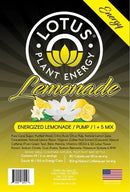 Lotus Energy Lemonade Concentrate label