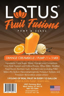 Orange Creamsicle Lotus Fruit Fusion Concentrate