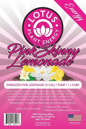 Energized Pink Skinny Energy Lemonade Concentrate