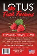 Strawberry Lotus Fruit Fusions Concentrate Drink