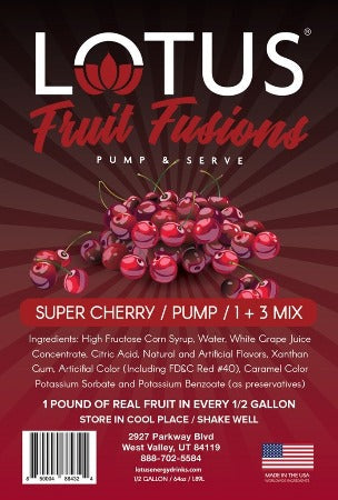 Super Cherry Lotus Fruit Fusions Concentrate