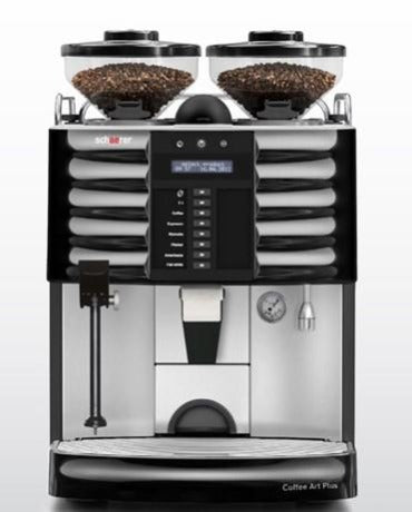 The Schaerer Coffee Art Plus offers top performance at all levels. A wide variety of beverages, the quality of the coffee/milk beverages, countless configuration options. Simple operations—with the Coffee Art Plus, you are always step ahead of the competition.
