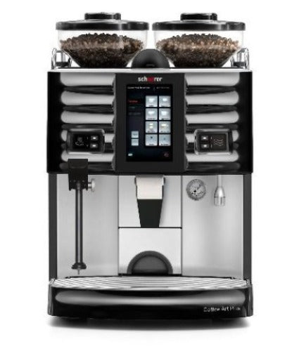 The Schaerer Coffee Art Plus Touch offers a wide variety of espresso beverages, coffee/milk beverages, countless configuration options. Ideal for hotels, restaurants, fast casual self-service restaurants, quick service restaurants (QSR) , bakeries & coffee shops.