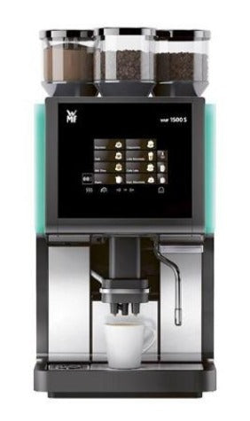 The WMF 1500S is the basic model for coffee indulgence. It is a fully automatic espresso machine that prepares high-quality coffee specialities, and it practically operates itself.