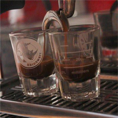 Rhino Coffee Gear Shot Glass
