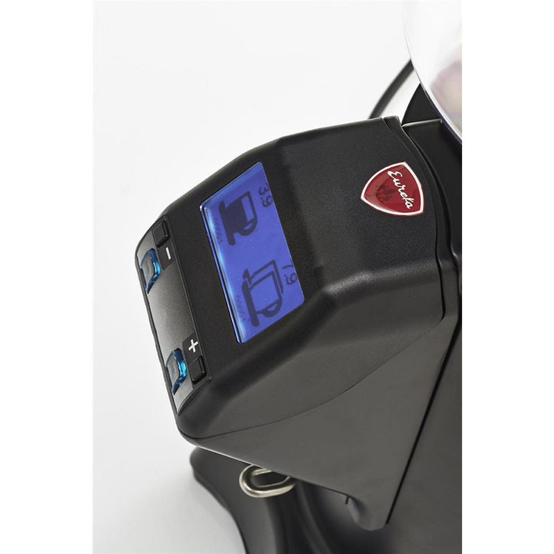 Eureka Zenith 65E Coffee Grinder digital display screen